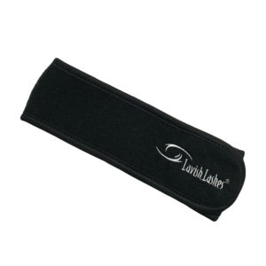 Lavish Lashes Black Headband